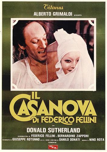 フェデリコ・フェリーニ監督のカサノバという映画